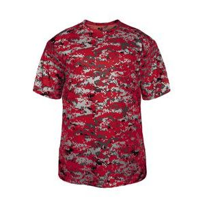 Digital Camo Short Sleeve T-Shirt Thumbnail