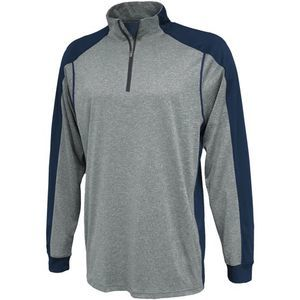 Youth Carbon 1/4 Zip Performance Warmup Thumbnail